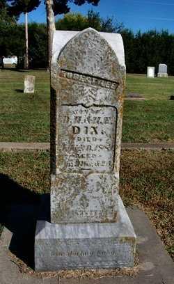 DIX, ROBERT - Cowley County, Kansas | ROBERT DIX - Kansas Gravestone Photos