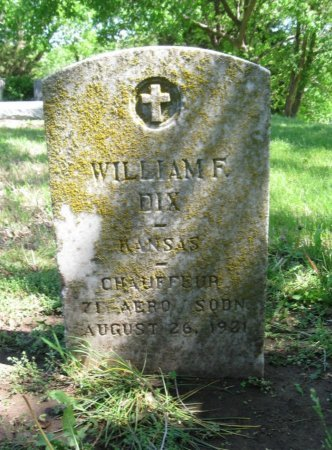 DIX, WILLIAM FRED (VETERAN) - Cowley County, Kansas   WILLIAM FRED (VETERAN) DIX - Kansas Gravestone Photos
