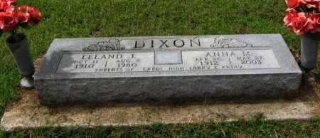 DIXON, LELAND JOHN - Cowley County, Kansas | LELAND JOHN DIXON - Kansas Gravestone Photos