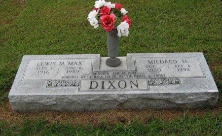 "DIXON, LEWIS MAXWELL ""MAX"" - Cowley County, Kansas   LEWIS MAXWELL ""MAX"" DIXON - Kansas Gravestone Photos"