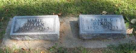 DIXON, RALPH C - Cowley County, Kansas | RALPH C DIXON - Kansas Gravestone Photos