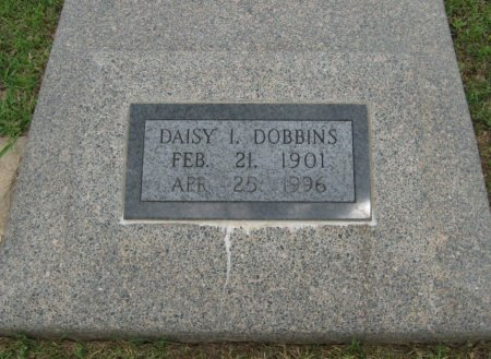 DOBBINS, DAISY IRENE - Cowley County, Kansas | DAISY IRENE DOBBINS - Kansas Gravestone Photos