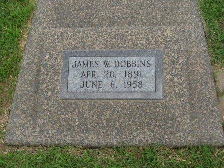 DOBBINS, JAMES WILLIAM - Cowley County, Kansas | JAMES WILLIAM DOBBINS - Kansas Gravestone Photos