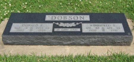 DOBSON, WINNIFRED E - Cowley County, Kansas   WINNIFRED E DOBSON - Kansas Gravestone Photos