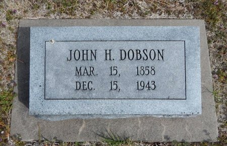 DOBSON, JOHN HENRY - Cowley County, Kansas | JOHN HENRY DOBSON - Kansas Gravestone Photos