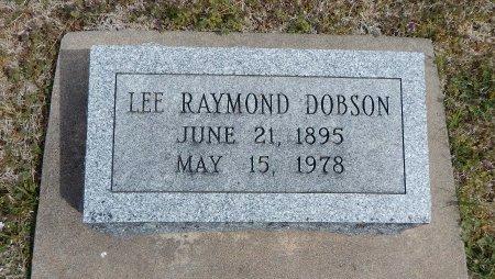 DOBSON, LEE RAYMOND - Cowley County, Kansas   LEE RAYMOND DOBSON - Kansas Gravestone Photos