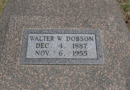 DOBSON, WALTER W - Cowley County, Kansas   WALTER W DOBSON - Kansas Gravestone Photos