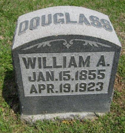 DOUGLASS, WILLIAM A - Cowley County, Kansas   WILLIAM A DOUGLASS - Kansas Gravestone Photos
