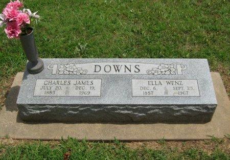 DOWNS, CHARLES JAMES - Cowley County, Kansas   CHARLES JAMES DOWNS - Kansas Gravestone Photos