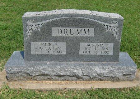 DRUMM, AUGUSTA FRANCES - Cowley County, Kansas   AUGUSTA FRANCES DRUMM - Kansas Gravestone Photos