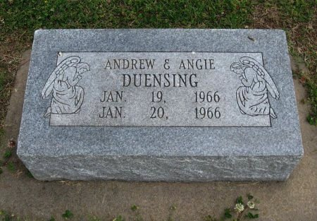 DUENSING, ANGIE - Cowley County, Kansas | ANGIE DUENSING - Kansas Gravestone Photos