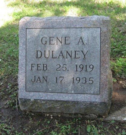 "DULANEY, EUGENE ARDELL ""GENE"" - Cowley County, Kansas   EUGENE ARDELL ""GENE"" DULANEY - Kansas Gravestone Photos"
