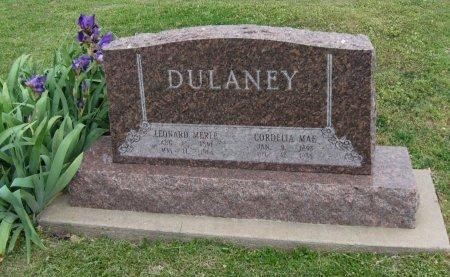 DULANEY, LEONARD MERLE - Cowley County, Kansas | LEONARD MERLE DULANEY - Kansas Gravestone Photos