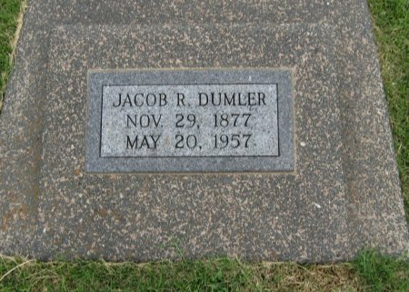 DUMLER, JACOB R - Cowley County, Kansas   JACOB R DUMLER - Kansas Gravestone Photos