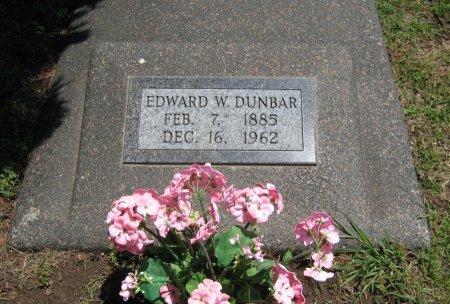 DUNBAR, EDWARD WARREN - Cowley County, Kansas   EDWARD WARREN DUNBAR - Kansas Gravestone Photos
