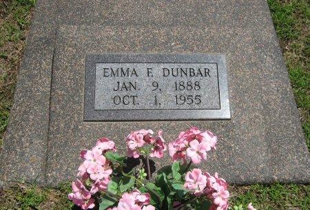 DUNBAR, EMMA F - Cowley County, Kansas | EMMA F DUNBAR - Kansas Gravestone Photos