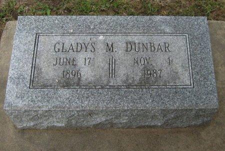 DUNBAR, GLADYS MARIE - Cowley County, Kansas | GLADYS MARIE DUNBAR - Kansas Gravestone Photos