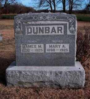 DUNBAR, JAMES MILTON - Cowley County, Kansas | JAMES MILTON DUNBAR - Kansas Gravestone Photos