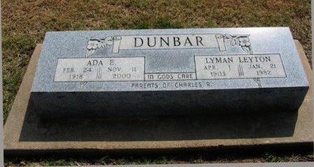 DUNBAR, LYMAN LEYTON - Cowley County, Kansas | LYMAN LEYTON DUNBAR - Kansas Gravestone Photos