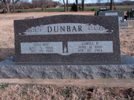 DUNBAR, EDNA MAY - Cowley County, Kansas   EDNA MAY DUNBAR - Kansas Gravestone Photos