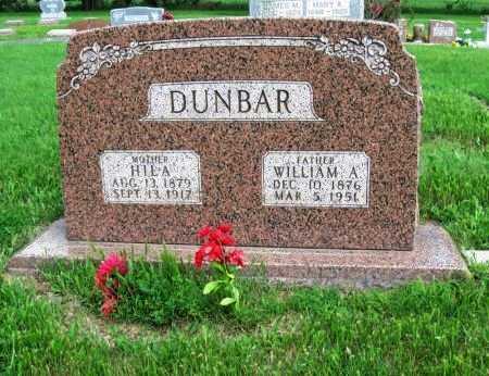 DUNBAR, HILA - Cowley County, Kansas | HILA DUNBAR - Kansas Gravestone Photos