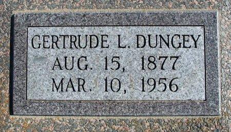 CARTTAR DUNGEY, GERTRUDE LENORE - Cowley County, Kansas   GERTRUDE LENORE CARTTAR DUNGEY - Kansas Gravestone Photos