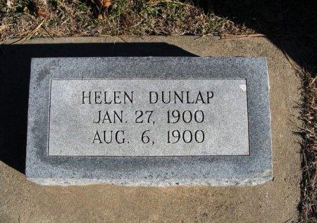 DUNLAP, HELEN - Cowley County, Kansas | HELEN DUNLAP - Kansas Gravestone Photos