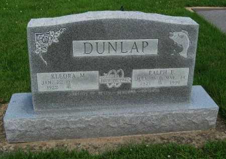 DUNLAP, RALPH EDWARD  (VETERAN WWII) - Cowley County, Kansas | RALPH EDWARD  (VETERAN WWII) DUNLAP - Kansas Gravestone Photos
