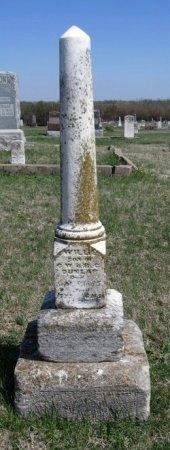 DUNLAP, WILLIE - Cowley County, Kansas   WILLIE DUNLAP - Kansas Gravestone Photos