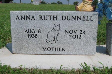 JONES DUNNELL, ANNA RUTH - Cowley County, Kansas | ANNA RUTH JONES DUNNELL - Kansas Gravestone Photos