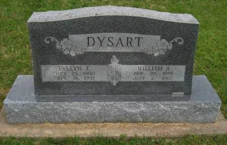 PIERCE DYSART, EVELYN ELSIE - Cowley County, Kansas | EVELYN ELSIE PIERCE DYSART - Kansas Gravestone Photos