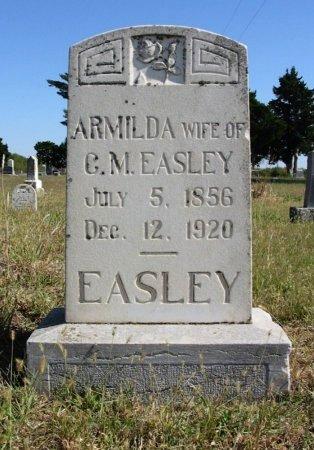EASLEY, ARMILDA - Cowley County, Kansas   ARMILDA EASLEY - Kansas Gravestone Photos