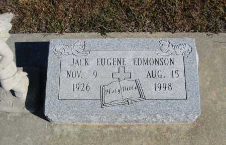 EDMONSON, JACK EUGENE - Cowley County, Kansas   JACK EUGENE EDMONSON - Kansas Gravestone Photos