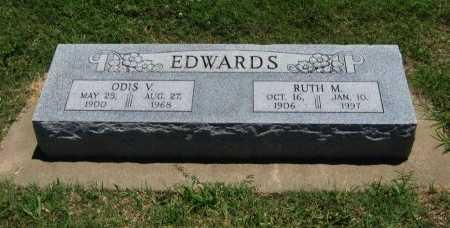 EDWARDS, ODIS V - Cowley County, Kansas   ODIS V EDWARDS - Kansas Gravestone Photos