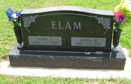 ELAM, JOHN VERNON (VETERAN WWI) - Cowley County, Kansas | JOHN VERNON (VETERAN WWI) ELAM - Kansas Gravestone Photos