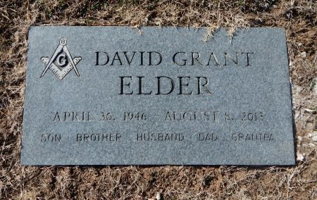 ELDER, DAVID GRANT - Cowley County, Kansas | DAVID GRANT ELDER - Kansas Gravestone Photos