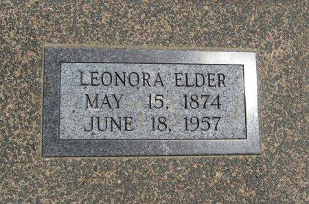 "ELDER, LEONORA ""NORA"" - Cowley County, Kansas | LEONORA ""NORA"" ELDER - Kansas Gravestone Photos"