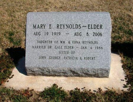 ELDER, MARY E - Cowley County, Kansas | MARY E ELDER - Kansas Gravestone Photos