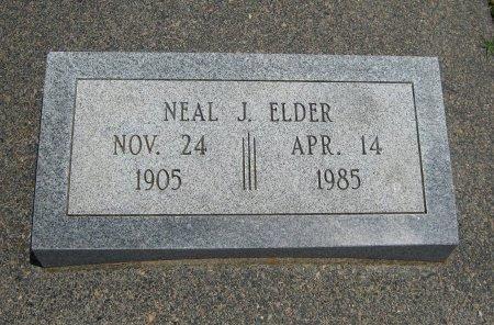 ELDER, NEAL J - Cowley County, Kansas   NEAL J ELDER - Kansas Gravestone Photos