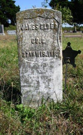 ELDER, JAMES  (VETERAN UNION) - Cowley County, Kansas | JAMES  (VETERAN UNION) ELDER - Kansas Gravestone Photos