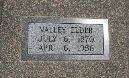 ELDER, VALLEY - Cowley County, Kansas | VALLEY ELDER - Kansas Gravestone Photos