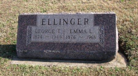 ELLINGER, EMMA LEE - Cowley County, Kansas | EMMA LEE ELLINGER - Kansas Gravestone Photos