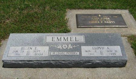 EMMEL, LLOYD A - Cowley County, Kansas | LLOYD A EMMEL - Kansas Gravestone Photos