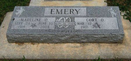 """MILLER EMERY, MADELINE OLIVE """"NAN"""" - Cowley County, Kansas 