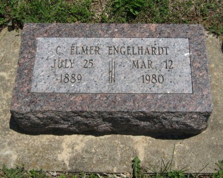 ENGELHARDT, CHARLES ELMER - Cowley County, Kansas   CHARLES ELMER ENGELHARDT - Kansas Gravestone Photos