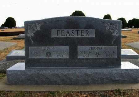 FEASTER, GUY SILAS - Cowley County, Kansas | GUY SILAS FEASTER - Kansas Gravestone Photos