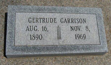 GARRISON, GERTRUDE - Cowley County, Kansas | GERTRUDE GARRISON - Kansas Gravestone Photos