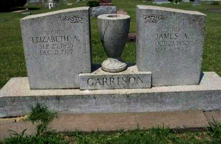 GARRISON, ELIZABETH A - Cowley County, Kansas | ELIZABETH A GARRISON - Kansas Gravestone Photos
