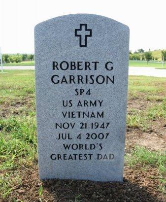 GARRISON, ROBERT G (VETERAN VIET) - Cowley County, Kansas   ROBERT G (VETERAN VIET) GARRISON - Kansas Gravestone Photos