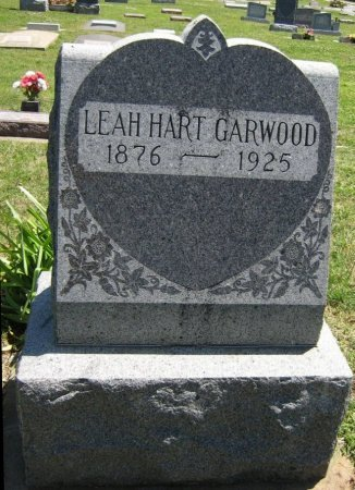 HART GARWOOD, LEAH S - Cowley County, Kansas   LEAH S HART GARWOOD - Kansas Gravestone Photos